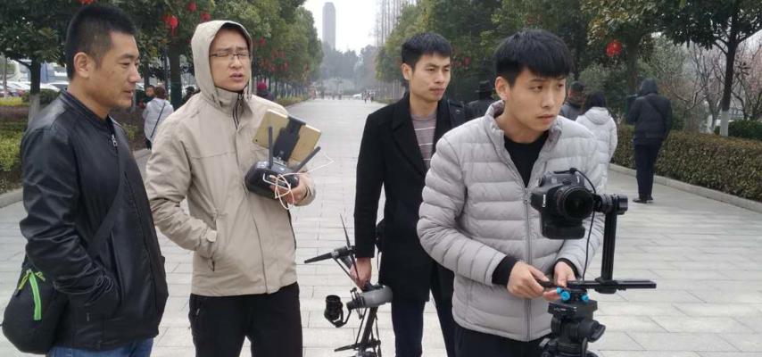 阳谷电视台VR风景中国网赴红色教育景区取景